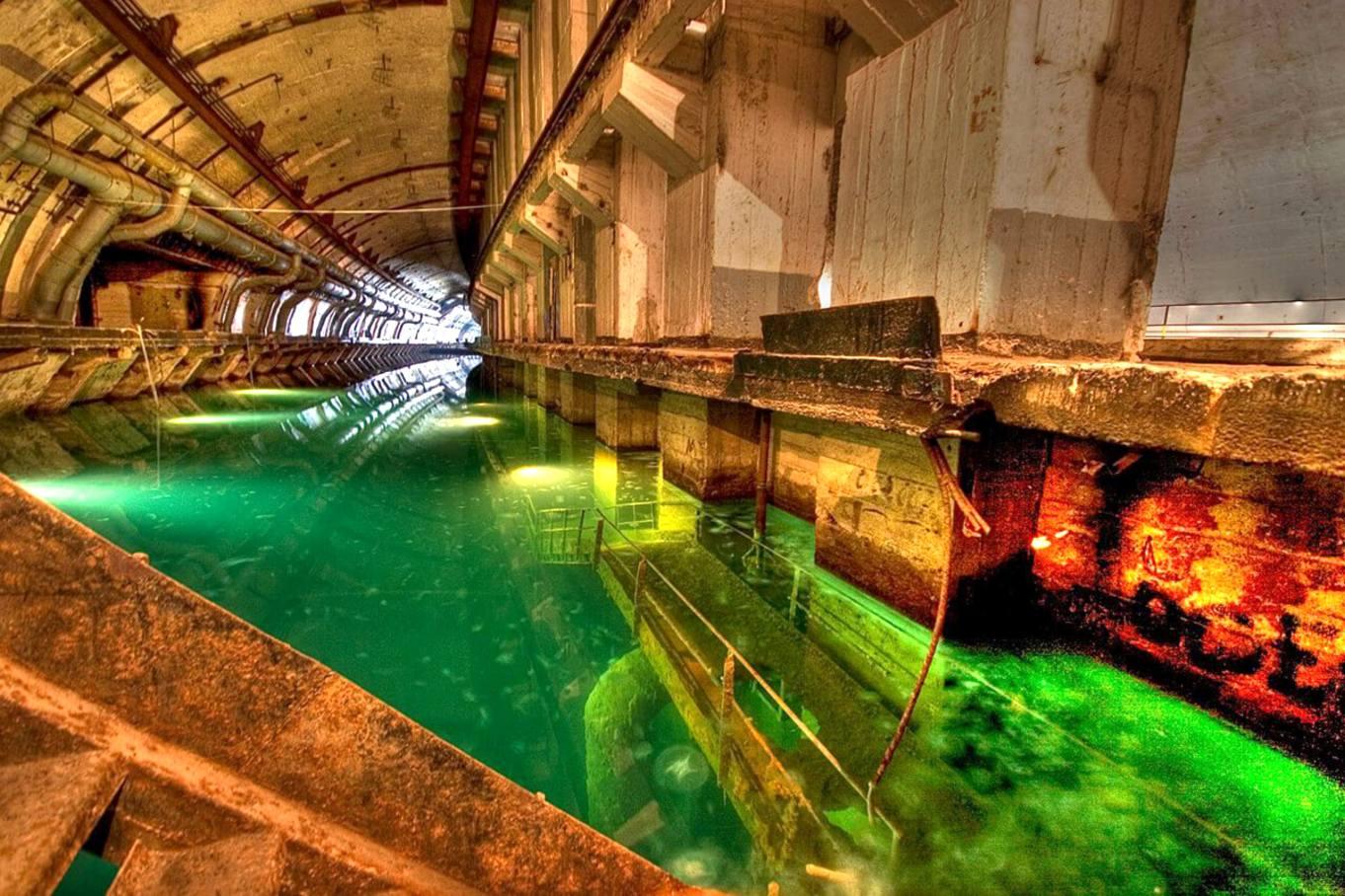 музей подводных лодок в балаклаве фото преимущественно песчаниках, алевритовых