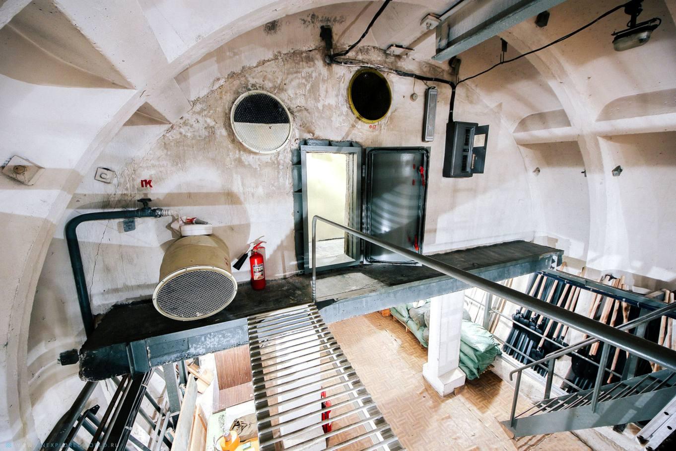 Фото подземного бункера