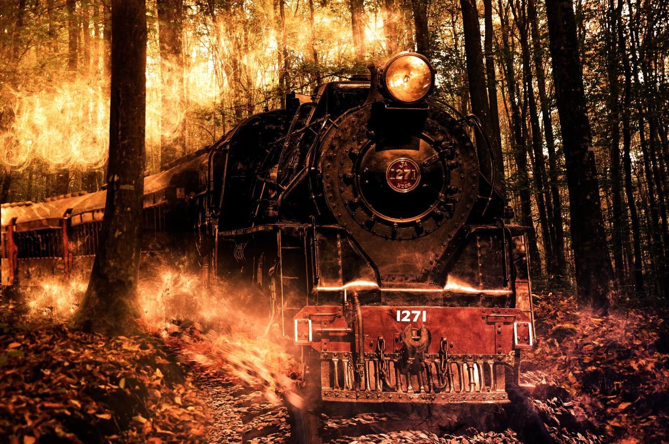 поезд в огне в картинках нас порадовало