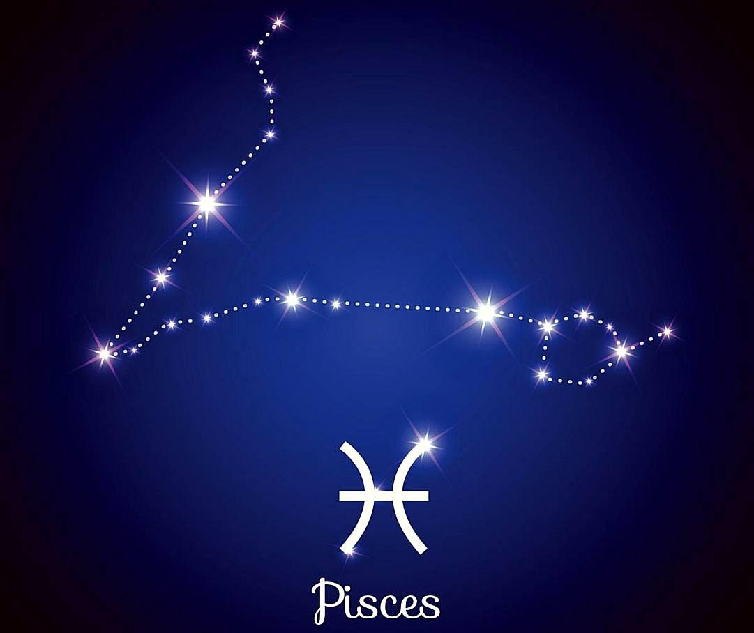 знак зодиака рыбы созвездие картинки