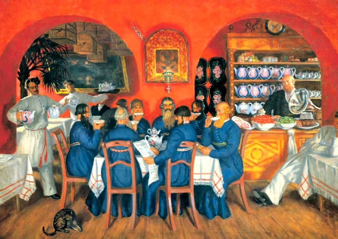 чай на руси фото бояре партия партия, игранная