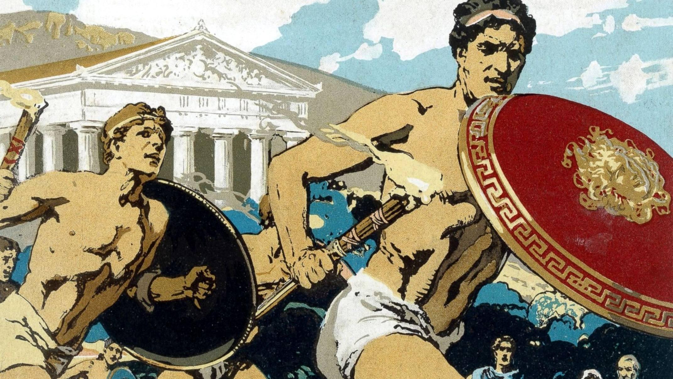 такие олимпийцы греции древней картинки даже