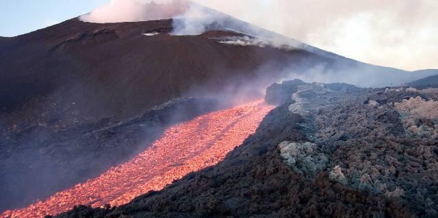 Где находится Этна: Экскурсия в кратер вулкана
