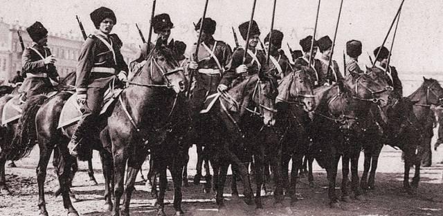 Гибель уральского казачества