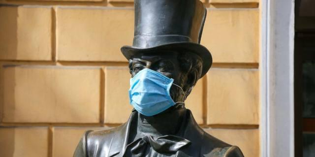 Пушкин в Болдино на карантине