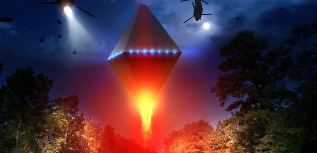 Летающие пирамиды в небе как объект НЛО