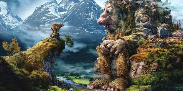 Тролли в скандинавской мифологии