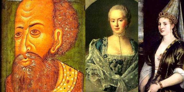 Фальшивые портреты известных людей