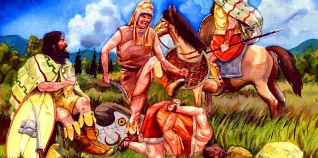 Тавры - народ Древнего Крыма, как выглядели