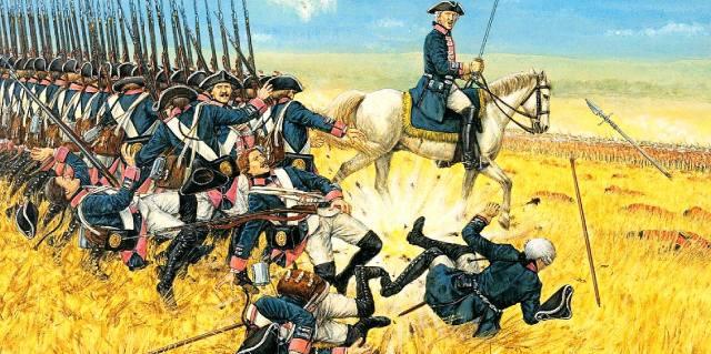 Тактика сражений XVIII века