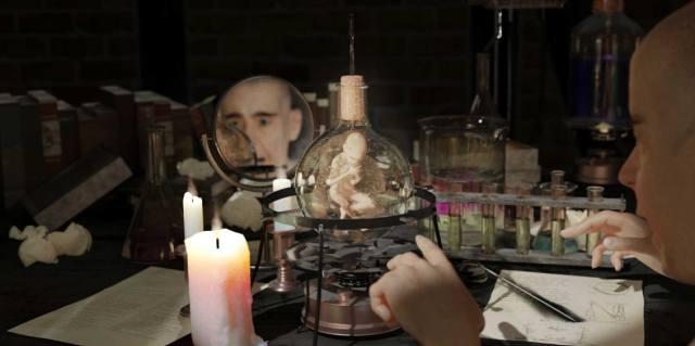 Гомункул - искусственное существо алхимиков