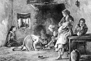 Фото: голод в Ирландии — интересные факты