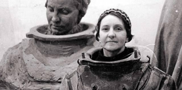 Нина Соколова: Первая в истории женщина тяжёлый водолаз