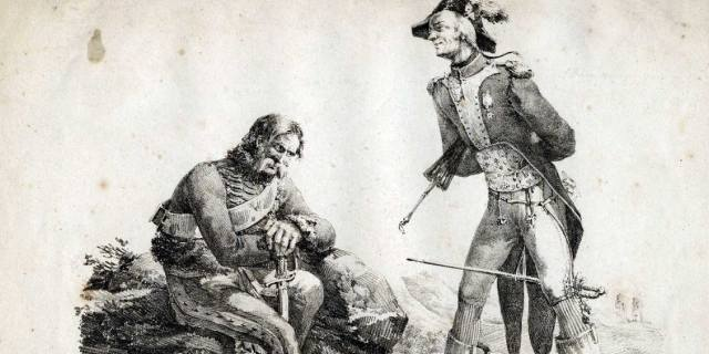 Литературные персонажи считающиеся историческими личностями