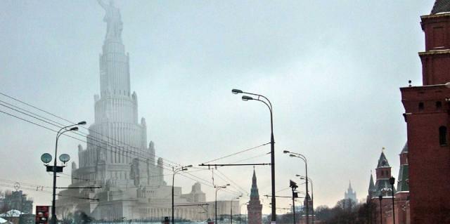 Дворец Советов в Москве - причины провала проекта
