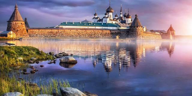 Соловецкие острова - история монастыря