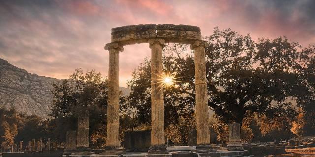 Олимпия - история города в Греции