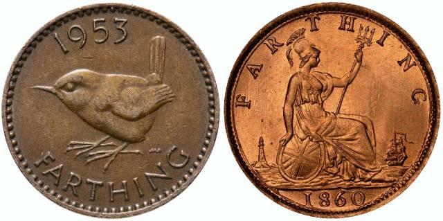 Фартинг - монета Англии