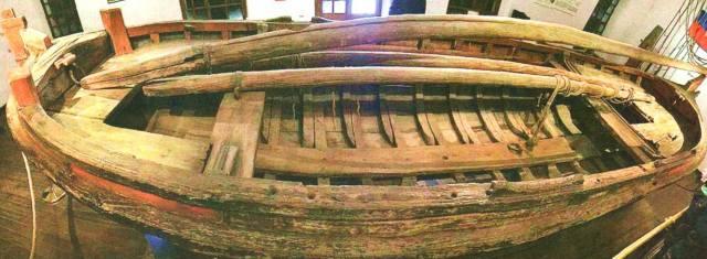 Шлюпка Петра 1 в музее морской истории в Стокгольме?…