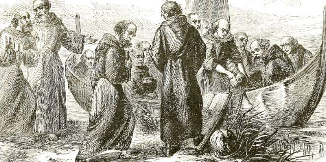 Как Святой Брендан мореплаватель открыл Америку