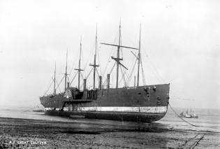 Фото: пароход Грейт Истерн — интересные факты
