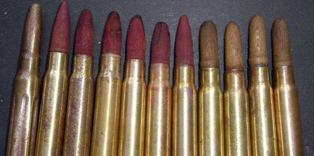Деревянные пули в немецких патронах - для чего?