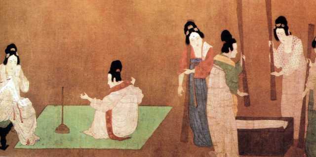 Китайские евнухи гарема императорского дворца