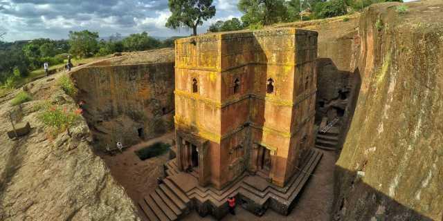 Лалибэла (Эфиопия): Скальные церкви