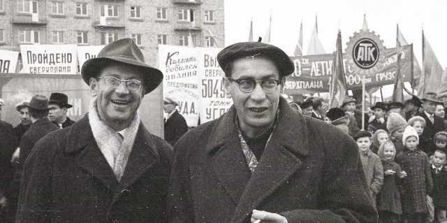 Юлий Дунский и Валерий Фрид