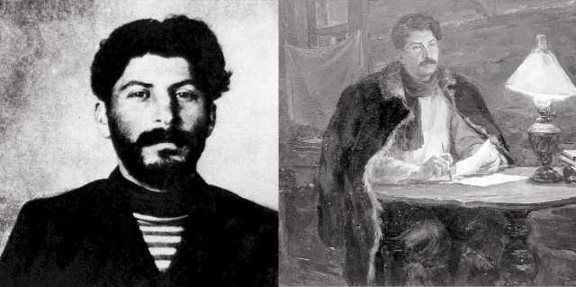 Молодой Сталин - участие в грабежах, экспроприациях и налётах