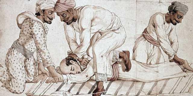 Тхаги - секта душителей богини смерти Кали (Индия)