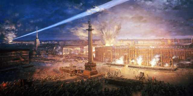 Какого числа произошла Октябрьская революция?