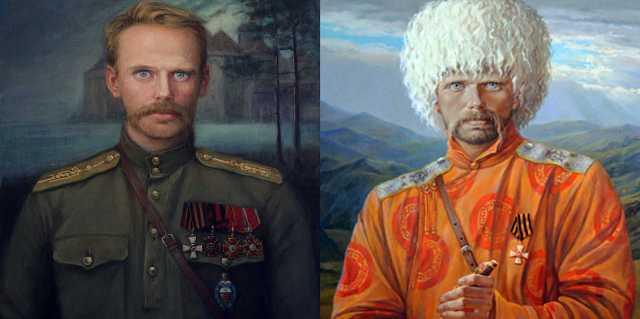 Барон Роман Фёдорович Унгерн фон Штернберг в Монголии