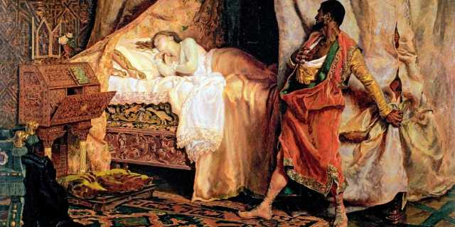 Убийство жён мужьями в Средние века