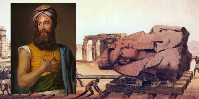 Джованни Бельцони - первооткрыватель культуры Древнего Египта