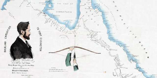 Людвиг Лейхгардт - маршрут через всю Австралию