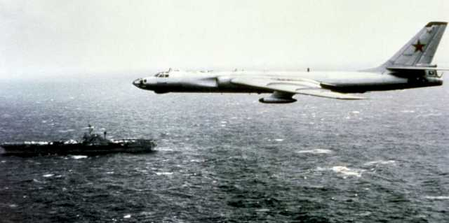 Тайна катастрофы Ту-16 - опасное лихачество или провокация США?