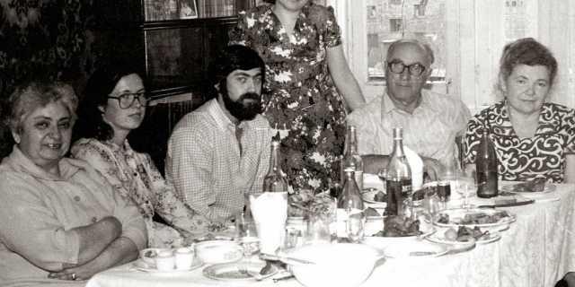 Новогодний стол в СССР в 60-е годы