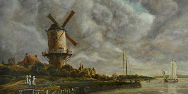 Загадки индустриальных пейзажей в изобразительном искусстве