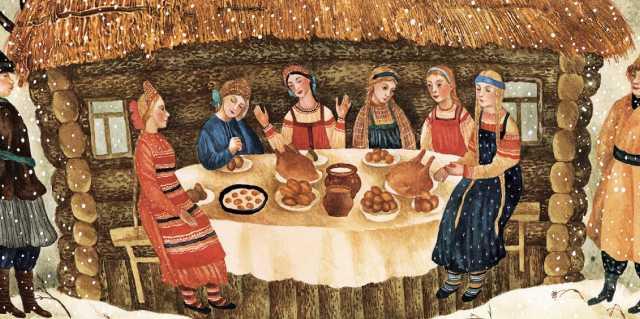 Зимние традиции русского народа и обряды крестьян