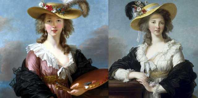 Элизабет Виже-Лебрен - картины французской портретистки