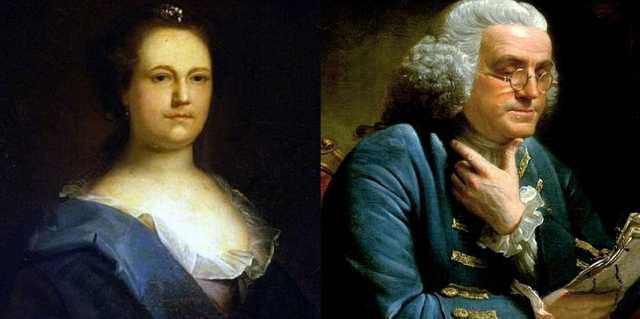 Дебора Рид и Бенджамин Франклин - личная жизнь