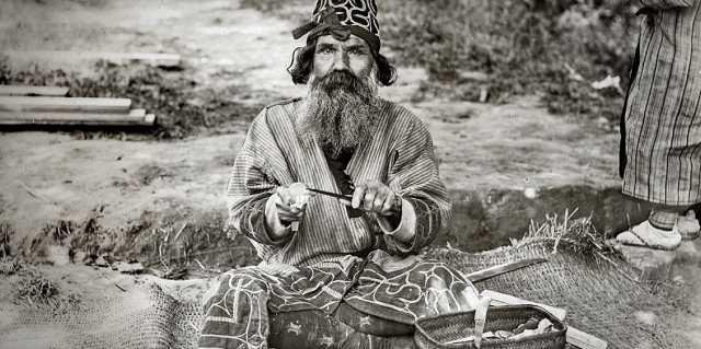 Народ айны - происхождение и расселение культуры Дзёмон