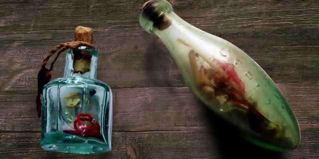 Ведьмина бутылка на любовь: Ритуал первой ведьмы