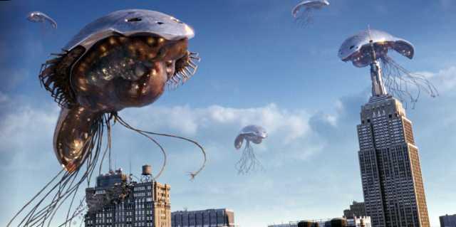 Пришельцы и НЛО над Нью-Йорком