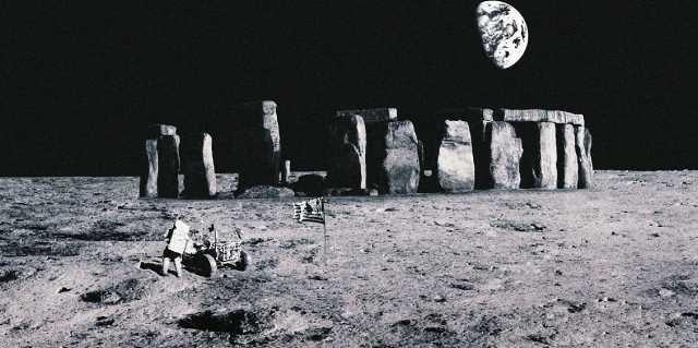 Тайны лунных фотографий и инопланетных объектов на них