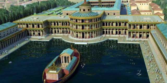 Золотой дом императора Нерона в Риме