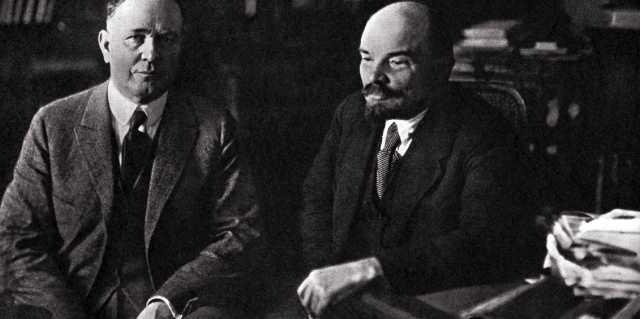 Зачем Герберт Уэллс в СССР приезжал к Владимиру Ленину?