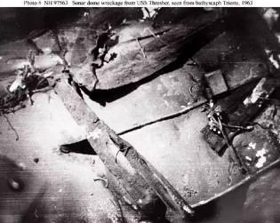 Фото: гибель подлодки Трэшер — интересные факты