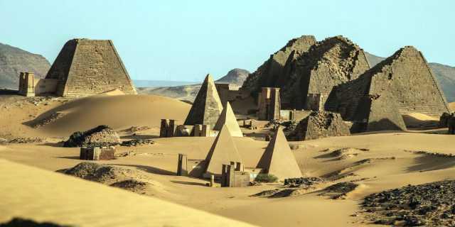 Нубийские пирамиды в Судане - тайна цивилизации